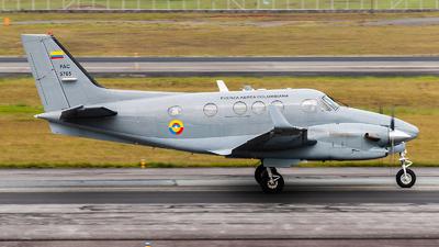 FAC5765 - Beechcraft C90GTx King Air - Colombia - Air Force