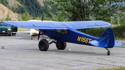N166T - Piper PA-18-105 Super Cub - Private