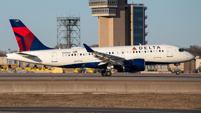 A picture of N139DU - Airbus A220100 - Delta Air Lines - © MSPlane Spotter