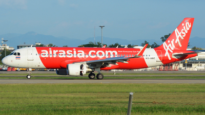 A picture of HSBBE - Airbus A320216 - AirAsia - © SOMPOL JUNLAMART