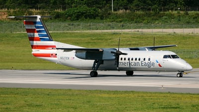 A picture of N327EN - De Havilland Canada Dash 8300 - [261] - © DJ Reed - OPShots Photo Team