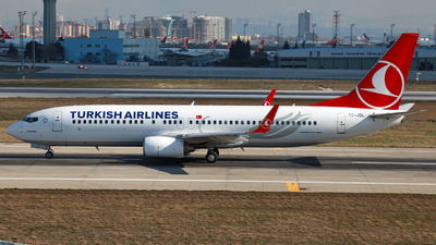 TC-JGL - Boeing 737-8F2 - Turkish Airlines