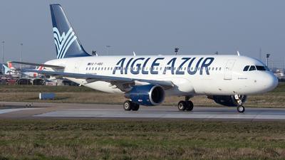 F-HBIO - Airbus A320-214 - Aigle Azur