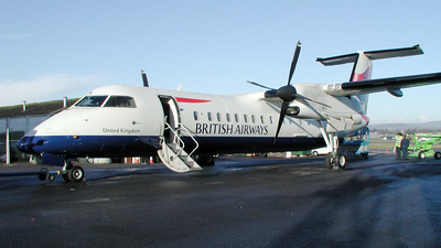 G-BRYX - Bombardier Dash 8-Q311 - British Airways (CityFlyer Express)