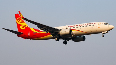 A picture of B5462 - Boeing 73784P - Hainan Airlines - © Jeppesen_Tu