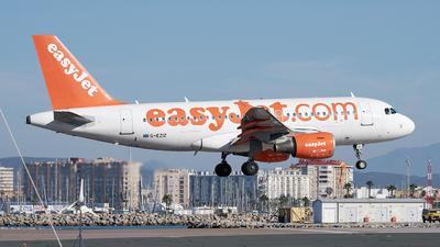 A picture of GEZIZ - Airbus A319111 - easyJet - © Fernando Roca