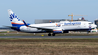 A picture of TCSNV - Boeing 73786J - SunExpress - © Timo Duda