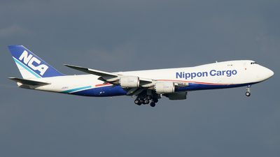 A picture of JA13KZ - Boeing 7478KZ(F) - Nippon Cargo Airlines - © Jan Seler
