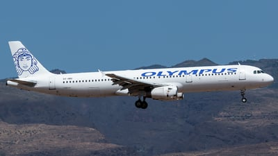 SX-ABQ - Airbus A321-231 - Olympus Airways