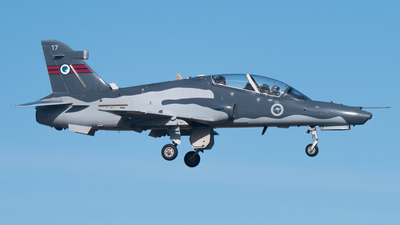 A27-17 - British Aerospace Hawk Mk.127 Lead-In Fighter - Australia - Royal Australian Air Force (RAAF)