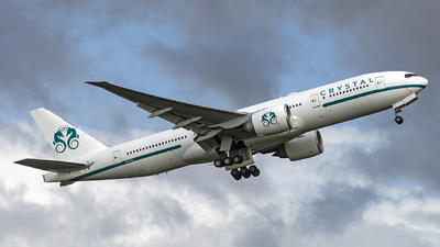 P4-XTL - Boeing 777-29MLR - Crystal Luxury Air