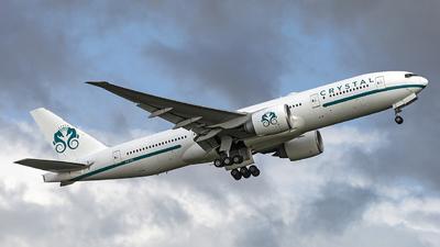 A picture of P4XTL - Boeing 77729M(LR) - Comlux Aruba - © Daniel Veronesi - RomeAviationSpotters