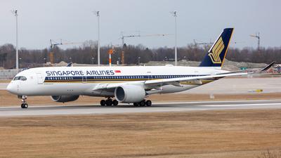 9V-SMA - Airbus A350-941 - Singapore Airlines