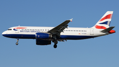 G-EUUI - Airbus A320-232 - British Airways