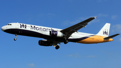 G-OZBP - Airbus A321-231 - Monarch Airlines