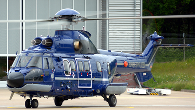 D-HEGS - Aérospatiale AS 332L1 Super Puma - Germany - Bundespolizei