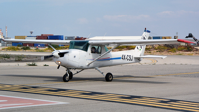 4X-CSJ - Cessna 152 - FN Aviation