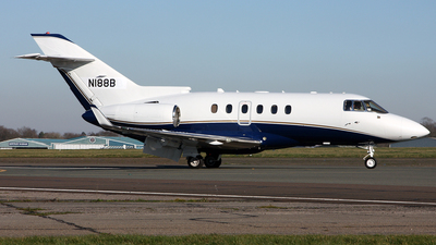 A picture of N188B - Hawker 850XP - [258822] - © Terry Wade