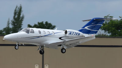 N77KN - Cessna Citation M2 - Private