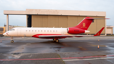 N3333U - Bombardier BD-700-1A11 Global 5000 - Private