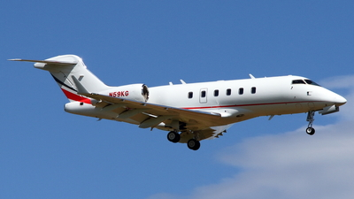 N59KG - Bombardier BD-100-1A10 Challenger 300 - Private