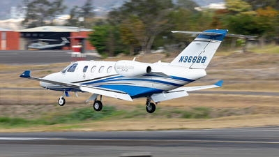 N966BB - Cessna 525 CitationJet M2 - Private