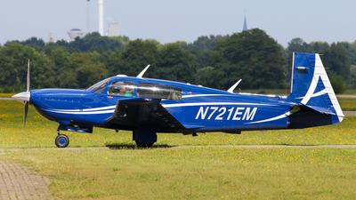 A picture of N721EM - Mooney M20TN - [310064] - © BaszB