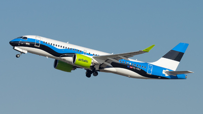 YL-CSJ - Airbus A220-371 - Air Baltic