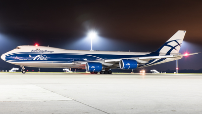 VP-BBP - Boeing 747-83QF - Air Bridge Cargo