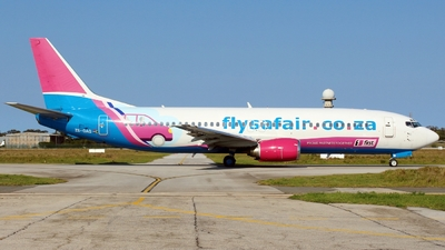ZS-OAG - Boeing 737-4H6 - FlySafair