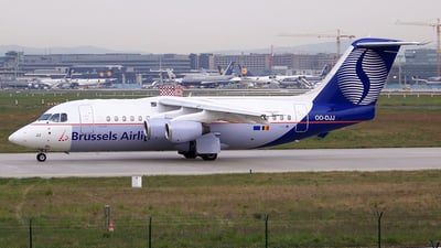 OO-DJJ - British Aerospace BAe 146-200 - Brussels Airlines