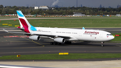 A picture of OOSCW - Airbus A340313 - [0335] - © Karl K.