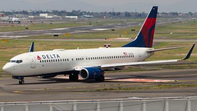 A picture of N3768 - Boeing 737832 - Delta Air Lines - © José Andrés Mora