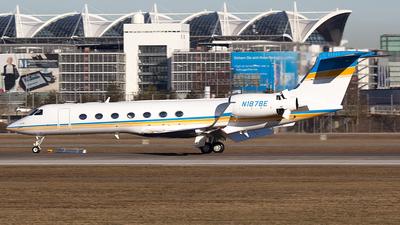 N1878E - Gulfstream G550 - Private