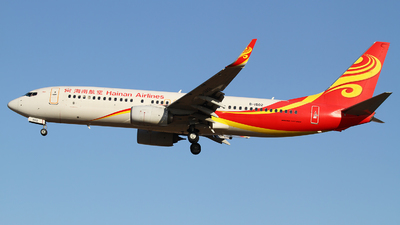 B-1502 - Boeing 737-84P - Hainan Airlines