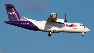 A picture of ECKAI - ATR 42300(F) - FedEx - © Matteo Buono