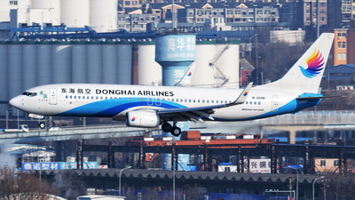 A picture of B204N - Boeing 73783Z - Donghai Airlines - © sunshy0621