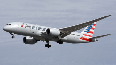 A picture of N807AA - Boeing 7878 Dreamliner - American Airlines - © Martin Nimmervoll