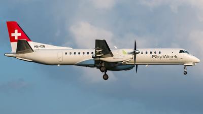 HB-IZB - Saab 2000 - Sky Work Airlines
