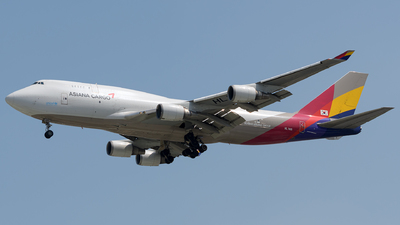 A picture of HL7415 - Boeing 74748E(BDSF) - Asiana Airlines - © Cao Kim Do