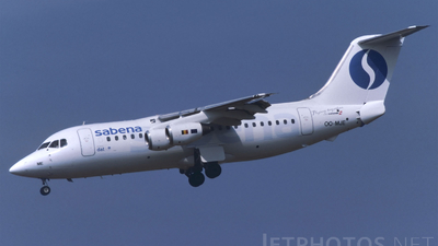 OO-MJE - British Aerospace BAe 146-200 - Sabena