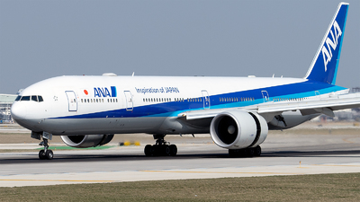 A picture of JA790A - Boeing 777381(ER) - All Nippon Airways - © Mingfei S