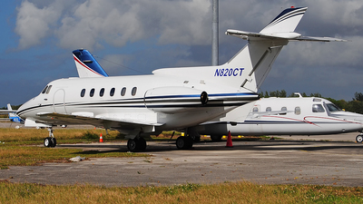 N820CT - Hawker Siddeley HS-125-700A - Private