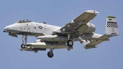 81-0967 - Fairchild A-10C Thunderbolt II - United States - US Air Force (USAF)