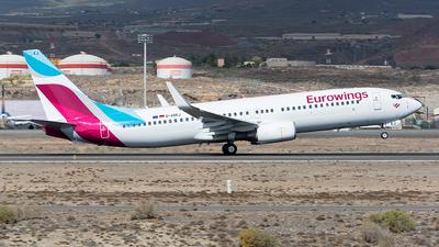D-ABKJ - Boeing 737-86J - Eurowings