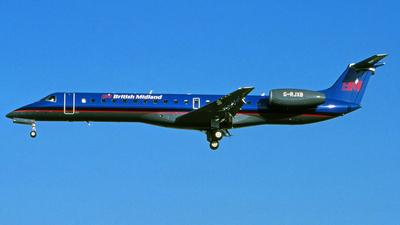 G-RJXB - Embraer ERJ-145EP - bmi British Midland International
