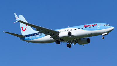 G-TAWM - Boeing 737-8K5 - Thomson Airways