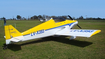 LV-X393 - Monnett Sonerai IILS - Private