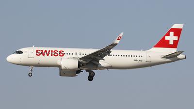 A picture of HBJDC - Airbus A320271N - Swiss - © Siegi N.