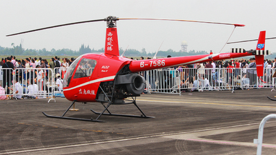 B-7586 - Robinson R22 Beta II - Sichuan Xiling Fengteng General Aviation